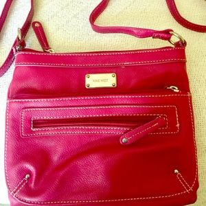 Nine West crossbody purse - pink